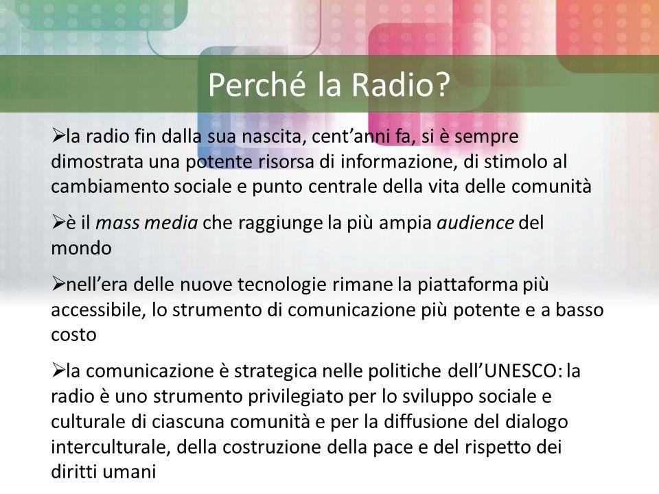 Perché la Radio.