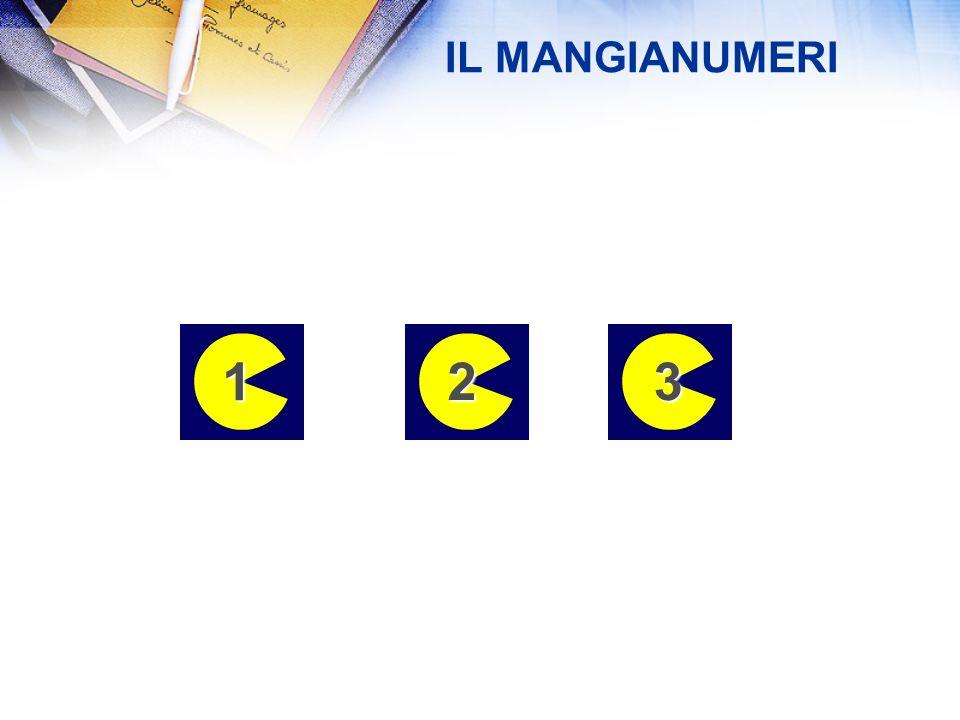 REGOLE: 1.Scegli un numero 2.Addiziona le cifre che lo compongono 3.Aggiungi a questo risultato il numero iniziale. 4.Ottieni in questo modo un nuovo