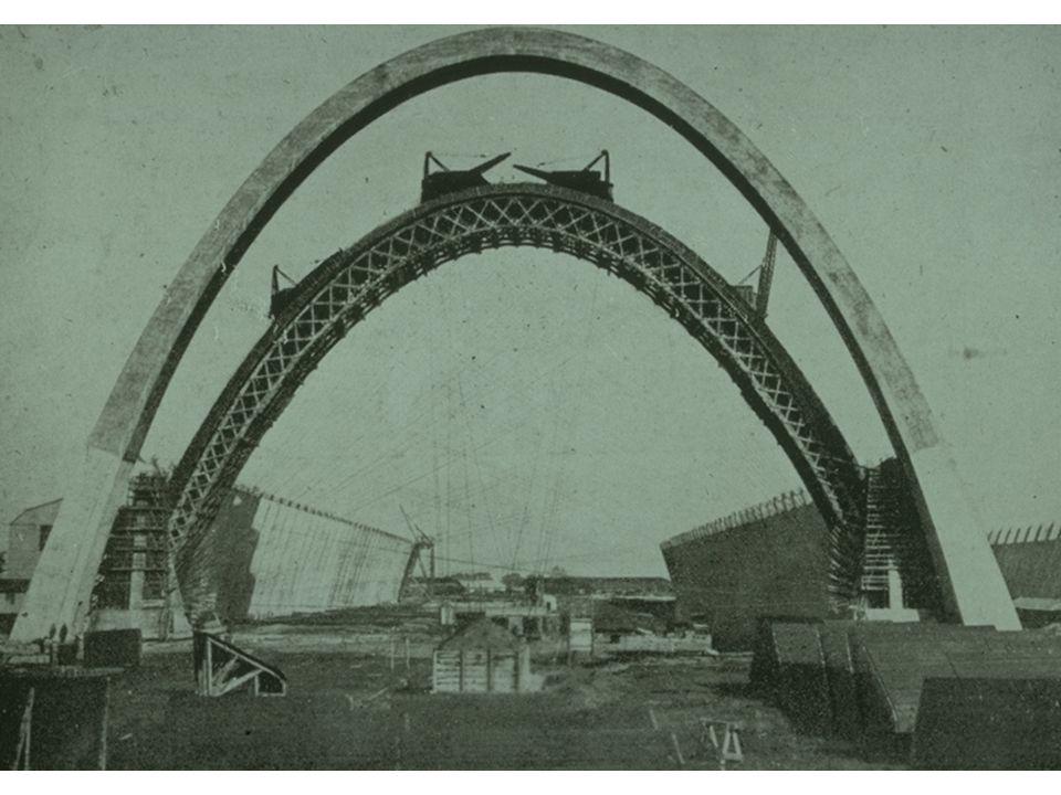 F. Dischinger: Copertura del mercato di Lipsia (1929