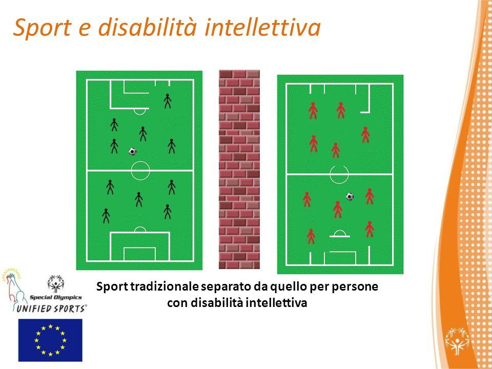 Sport tradizionale separato da quello per persone con disabilità intellettiva Sport e disabilità intellettiva