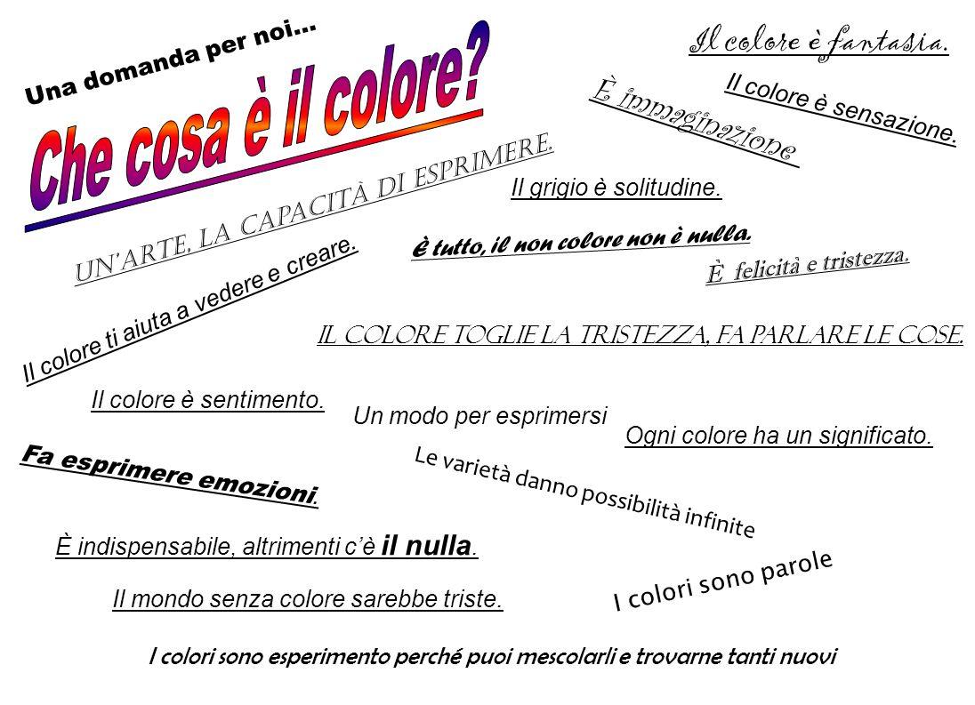Molto tempo fa i colori iniziarono a litigare: ognuno di essi affermava di essere il migliore, il più importante, il più utile, il favorito.