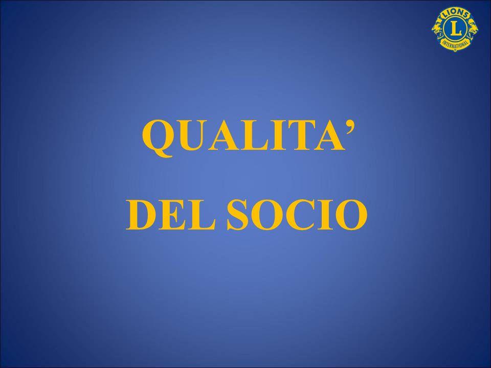QUALITA DEL SOCIO