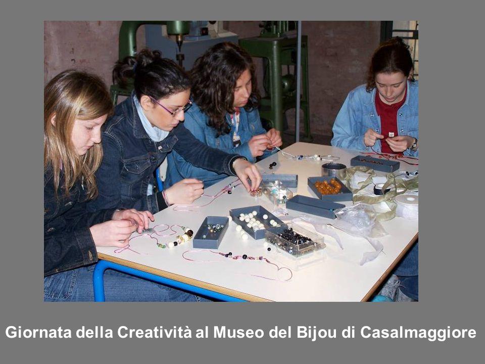 Giornata della Creatività al Museo del Bijou di Casalmaggiore