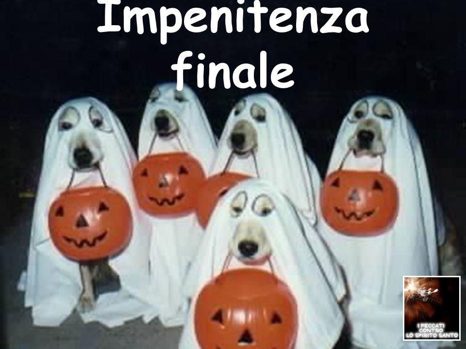 Impenitenza finale