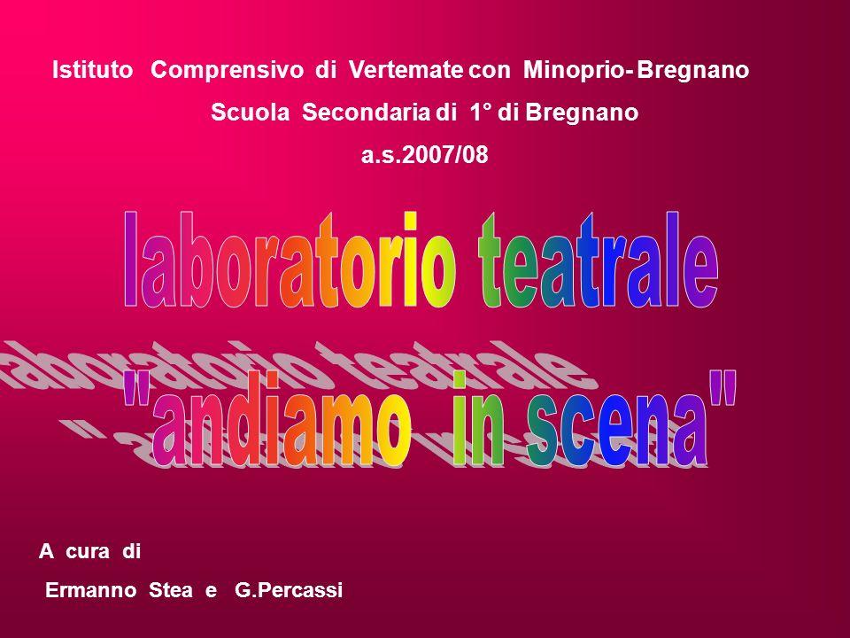 Istituto Comprensivo di Vertemate con Minoprio- Bregnano Scuola Secondaria di 1° di Bregnano a.s.2007/08 A cura di Ermanno Stea e G.Percassi