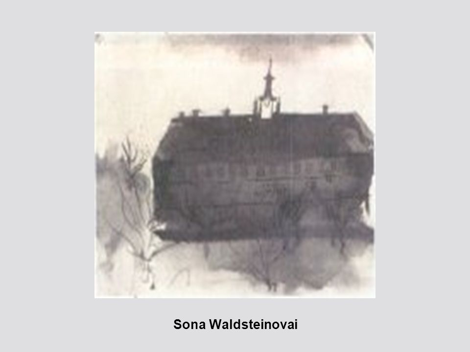 Sona Waldsteinovai