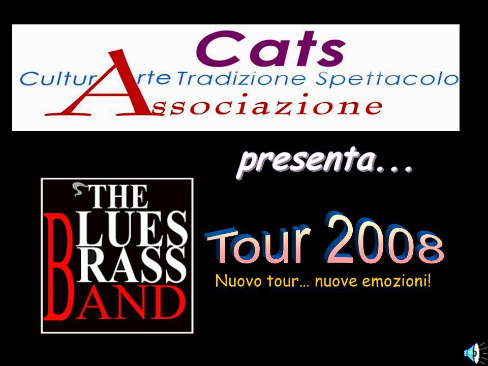 The Blues Brass Band presenta il nuovo tuor estivo 2008 che darà vita al loro primo album ufficiale in autunno.