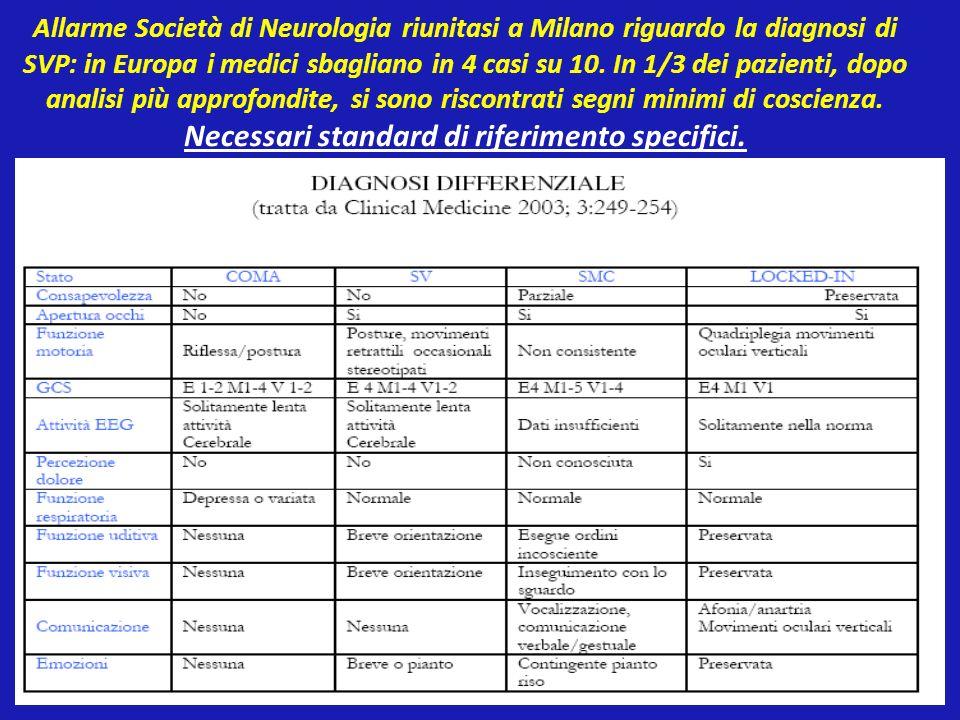 Allarme Società di Neurologia riunitasi a Milano riguardo la diagnosi di SVP: in Europa i medici sbagliano in 4 casi su 10. In 1/3 dei pazienti, dopo