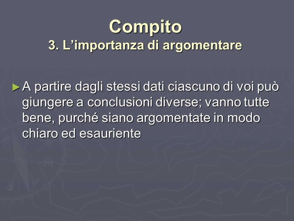 Procedimento 1° fase Formate 8 gruppi di 2 persone ciascuno Formate 8 gruppi di 2 persone ciascuno Seguite le fasi indicate nelle prossime slide Seguite le fasi indicate nelle prossime slide