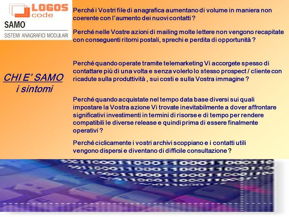 SAMO è installato con successo presso SOCIETA DI SERVIZI C.D.P.