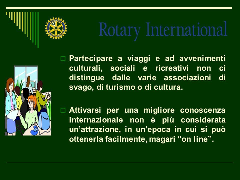 Partecipare a viaggi e ad avvenimenti culturali, sociali e ricreativi non ci distingue dalle varie associazioni di svago, di turismo o di cultura. Att