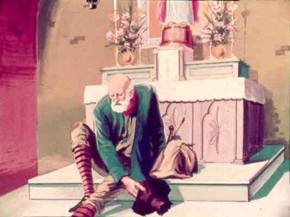 Barcollava allorché giunse ad una cappella fuori di mano. Entrò. Esausto si rannicchiò sui gradini di un piccolo altare. Chinò la testa sul petto, chi