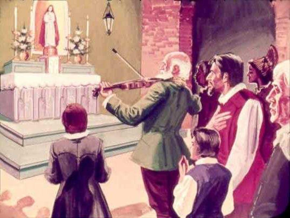 Larcivescovo stesso volle avere lonore di comperare le scarpette e in cambio diede al violinista un sacchetto pieno di monete doro. Così non avrebbe p