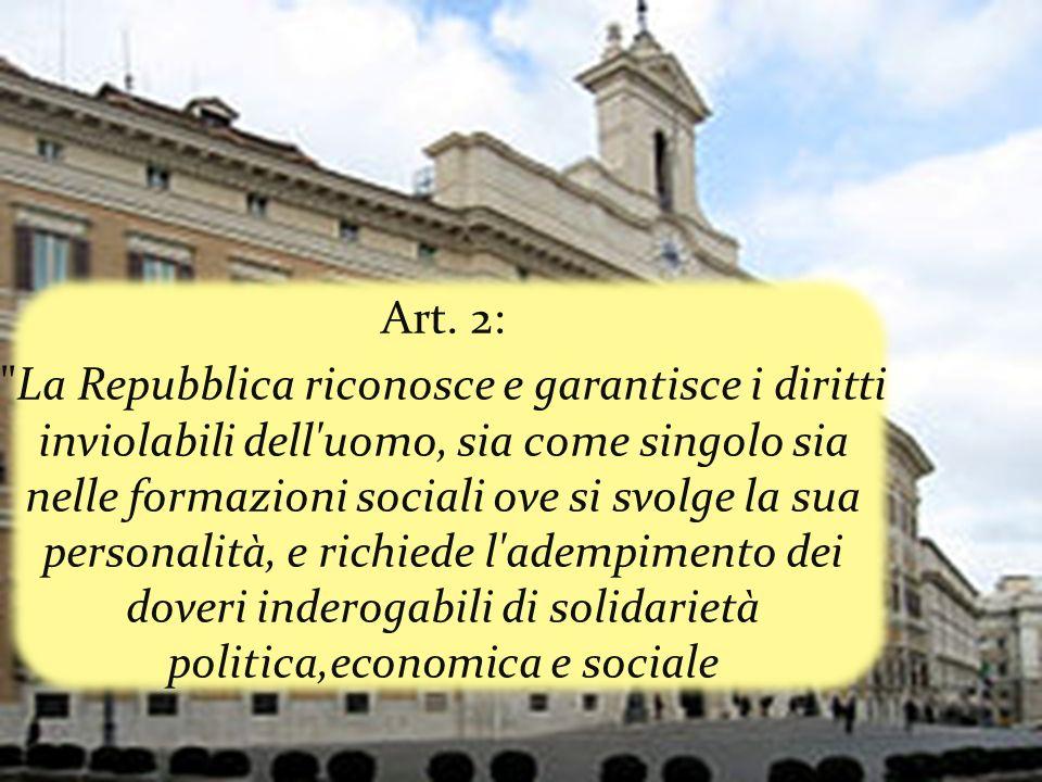 Tra i tanti articoli da lui firmati : quelli sulla dignità della persona (articoli 2 e 3), sul rapporto tra stato e chiesa (articolo 7), quello in base al quale lItalia ripudia la guerra (articolo 11).