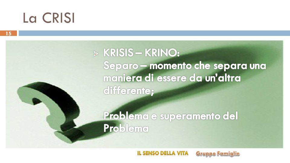 La CRISI 15