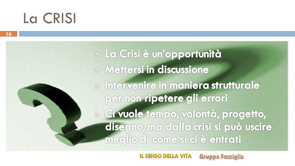 La CRISI 16