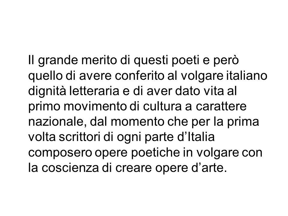 I POETI I principali poeti della scuola siciliana furono: Jacopo da Lentini Pier della Vigna Guido delle Colonne Rinaldo d Aquino