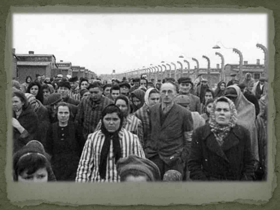 La prima pattuglia russa giunse in vista del campo verso il mezzogiorno del 27 gennaio 1945. Fummo Charles ed io i primi a scorgerla (...). Erano quat