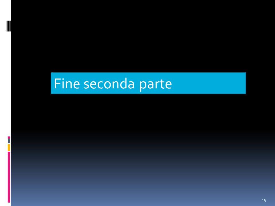 15 Fine seconda parte