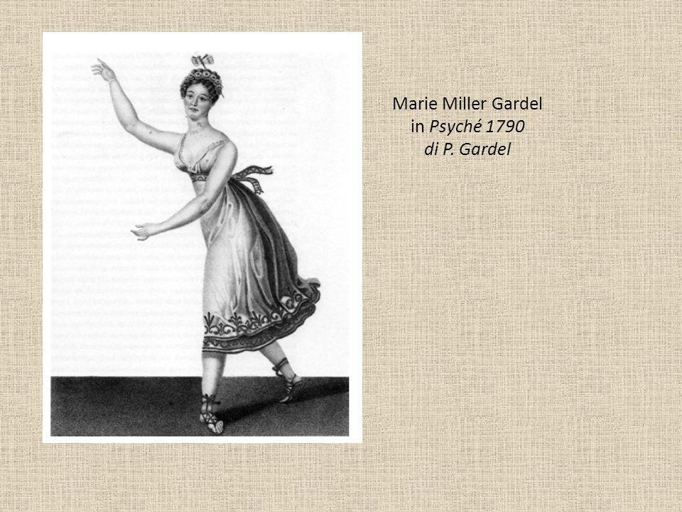 Marie Miller Gardel in Psyché 1790 di P. Gardel
