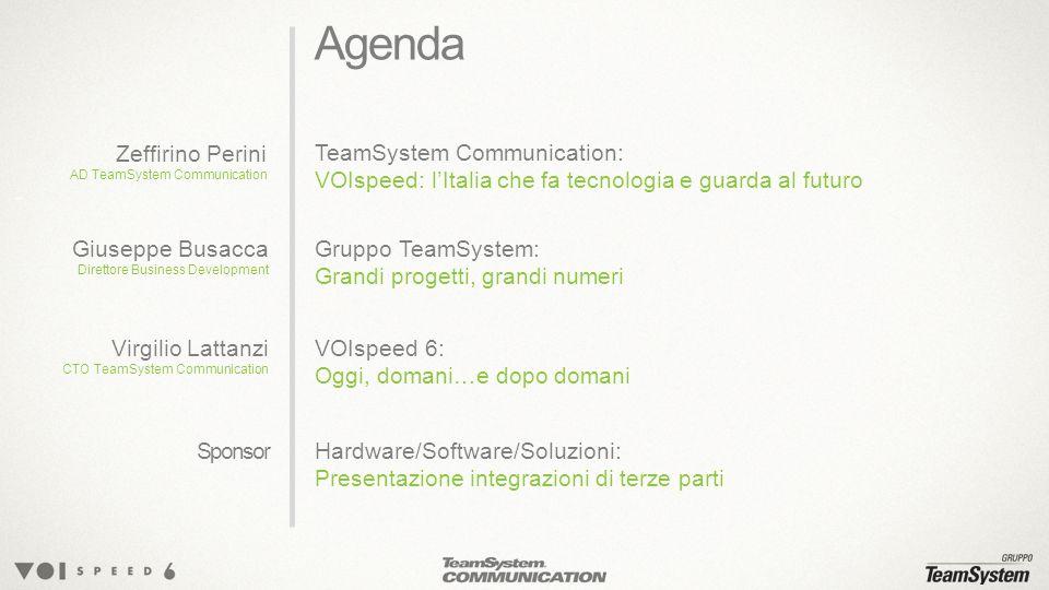 Grandi progetti, grandi numeri Giuseppe Busacca Direttore Business Development