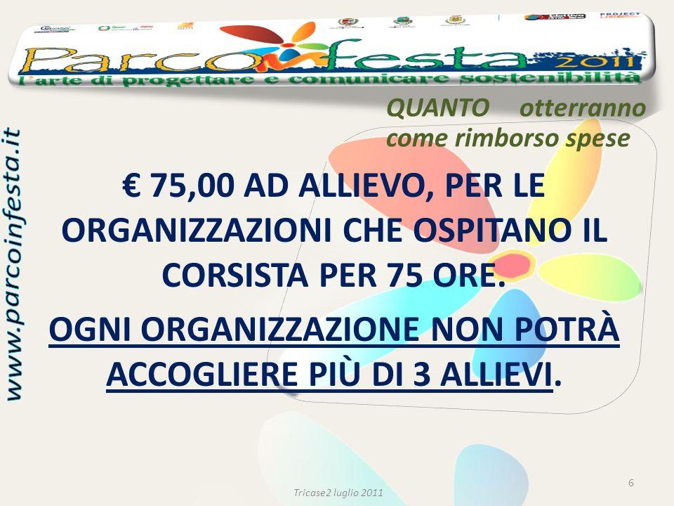COME partecipare 7 Tricase2 luglio 2011 1.COMPILARE E SOTTOSCRIVERE LA DOMANDA DI PARTECIPAZIONE (ALL.