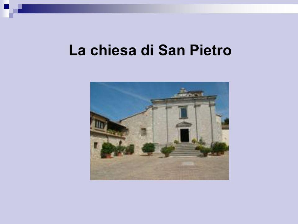 La chiesa di San Pietro