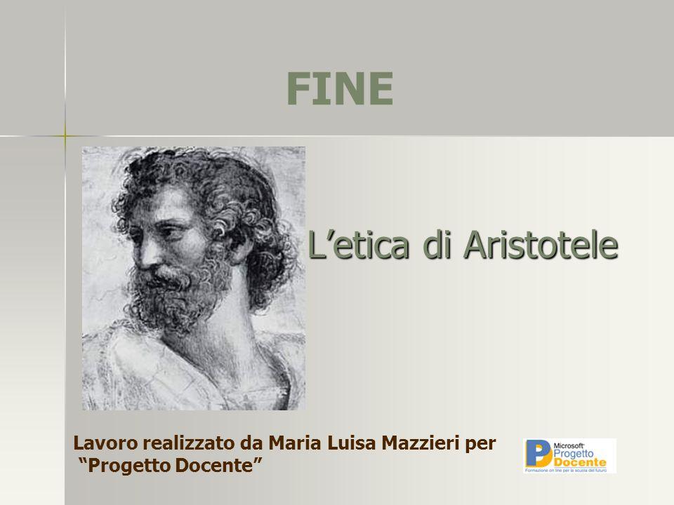 Letica di Aristotele Lavoro realizzato da Maria Luisa Mazzieri per Progetto Docente FINE