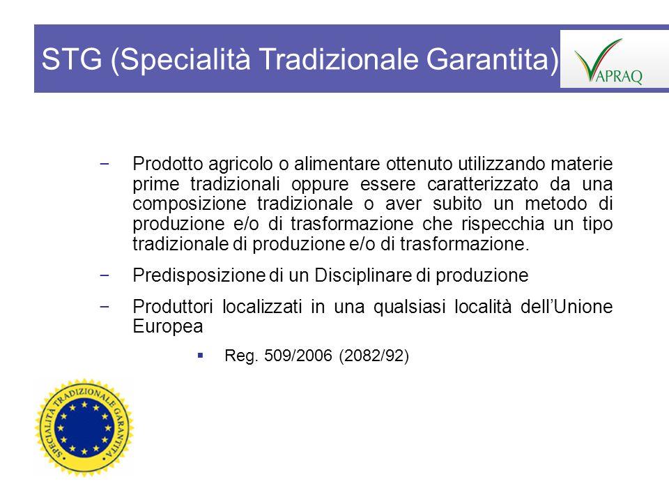 Prodotto agricolo o alimentare ottenuto utilizzando materie prime tradizionali oppure essere caratterizzato da una composizione tradizionale o aver su