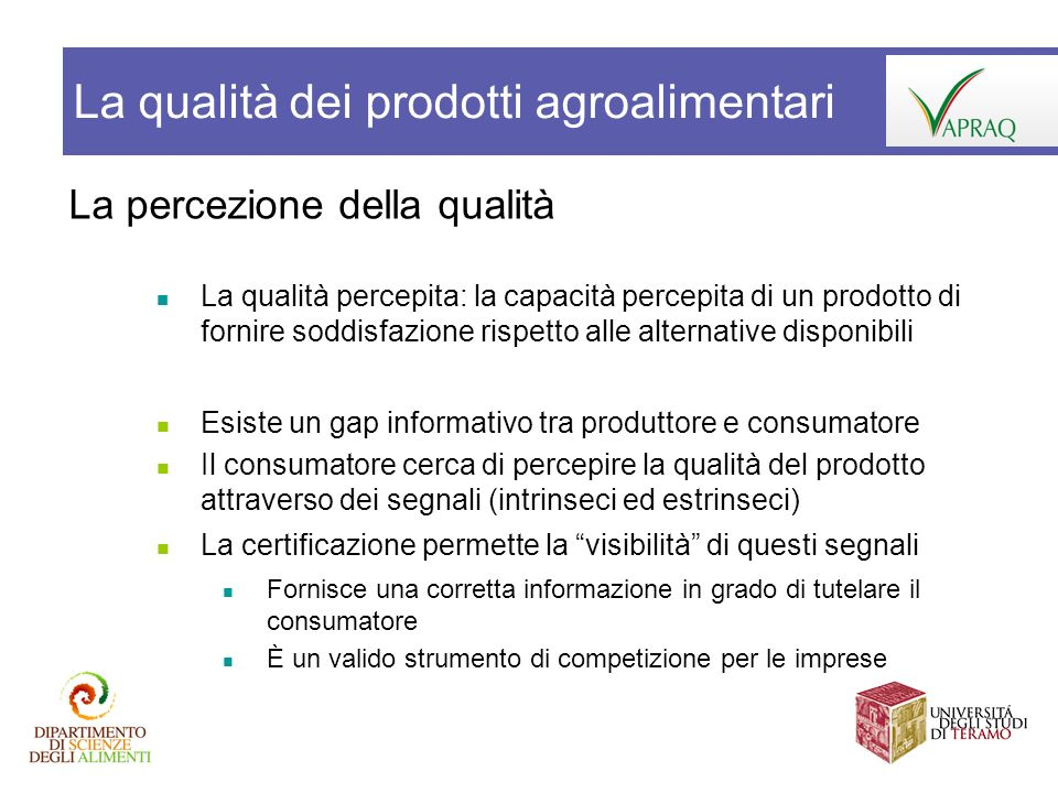 IG e mercati locali Incrementare la vendita diretta: a) Facilitare laccesso ai prodotti e alle imprese che li producono e vendono direttamente b) Fornire informazioni sulle caratteristiche dei prodotti e dei metodi di produzione utilizzati per realizzarli Es.