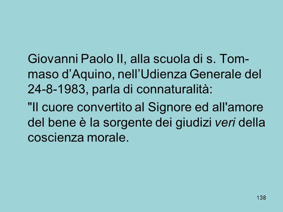 Giovanni Paolo II, alla scuola di s.