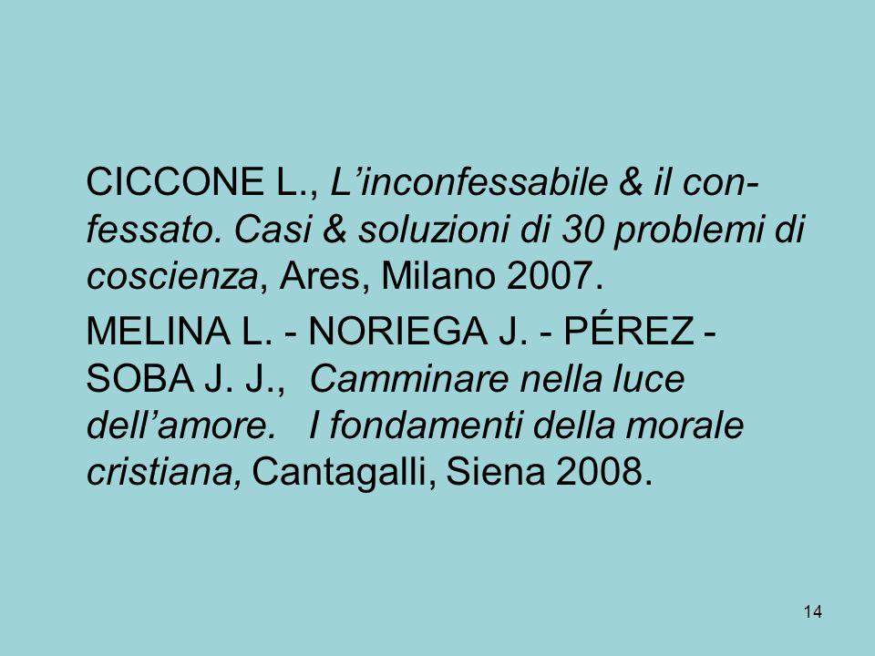 CICCONE L., Linconfessabile & il con- fessato.