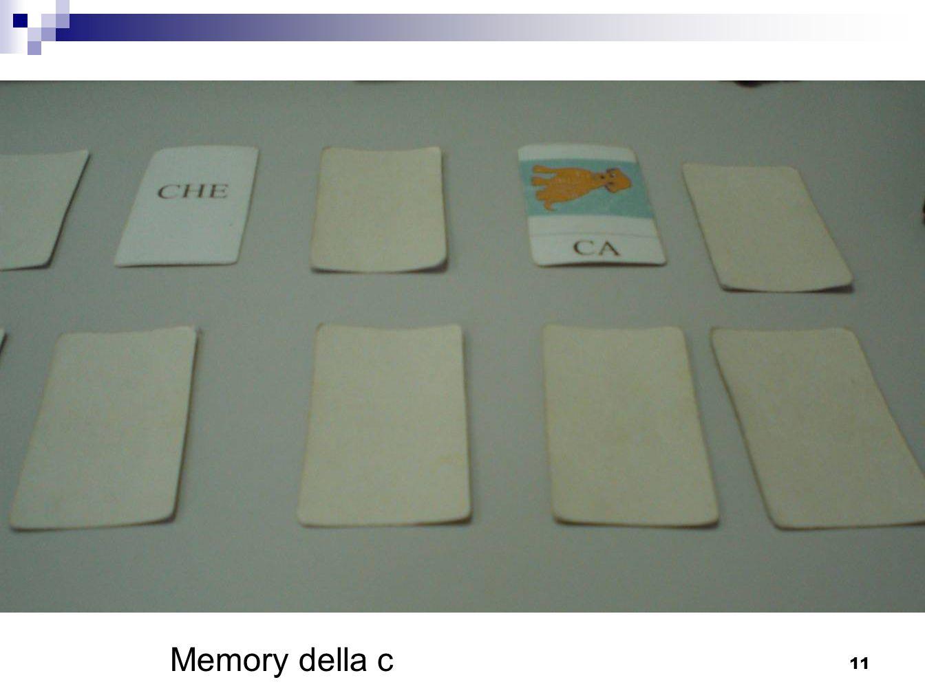 11 Memory della c