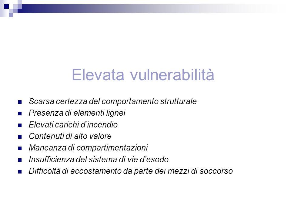 Strategia di sicurezza Verifica della compatibilità Eventuali simulazioni con modelli Impatto sul bene da tutelare Risorse finanziarie disponibili Esercitazioni