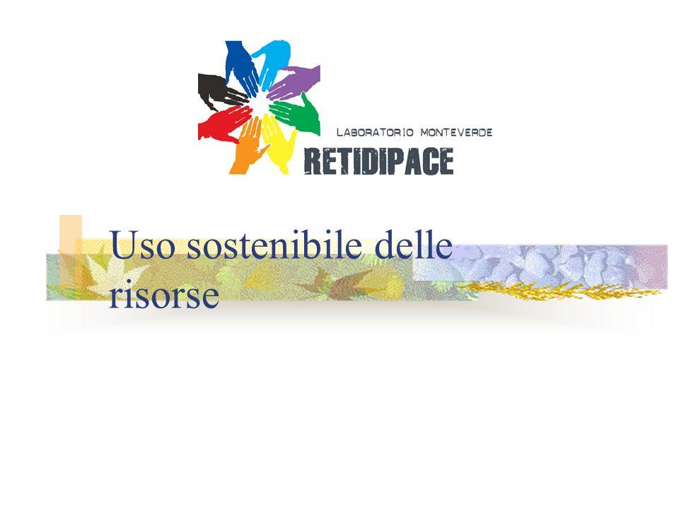 Uso sostenibile delle risorse