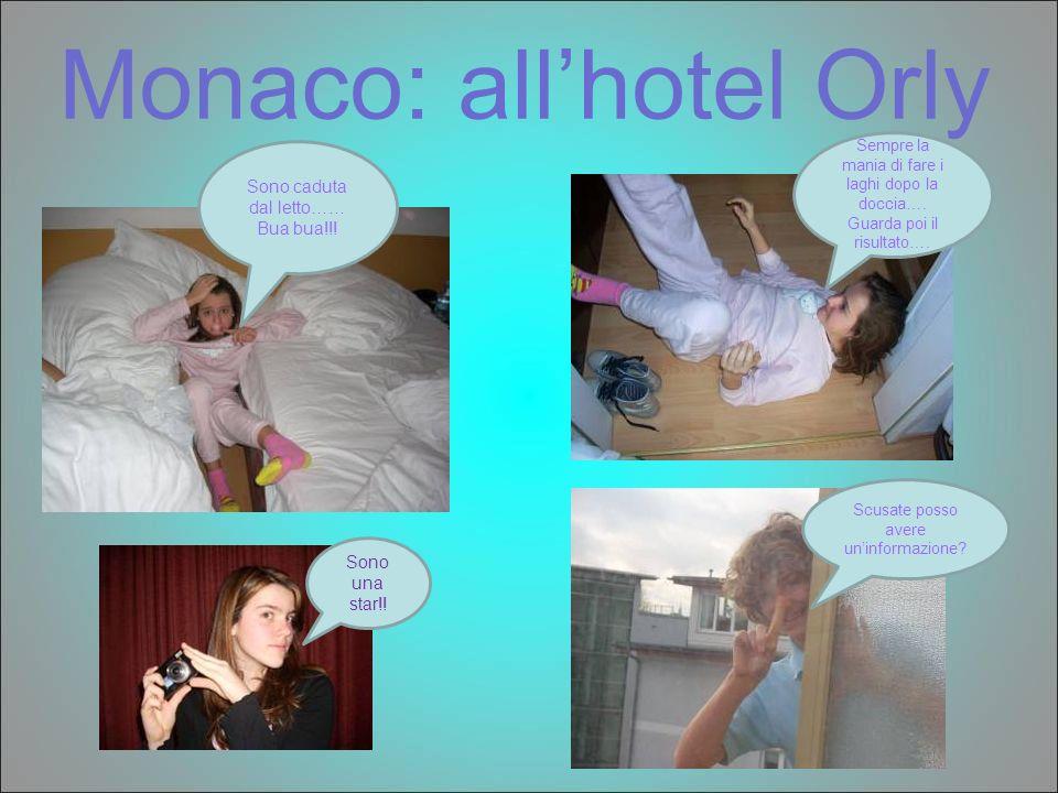 Monaco: allhotel Orly Sono caduta dal letto…… Bua bua!!! Sempre la mania di fare i laghi dopo la doccia…. Guarda poi il risultato…. Scusate posso aver