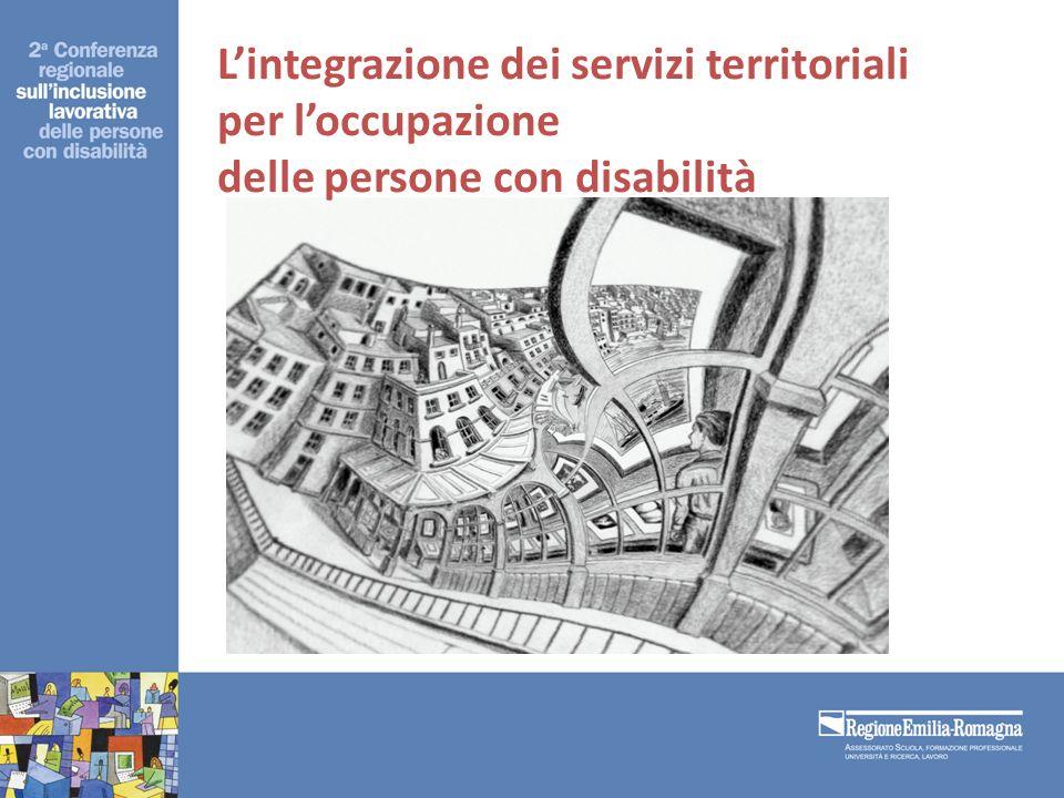 Lintegrazione dei servizi territoriali per loccupazione delle persone con disabilità Lintegrazione dei servizi territoriali per loccupazione delle persone con disabilità