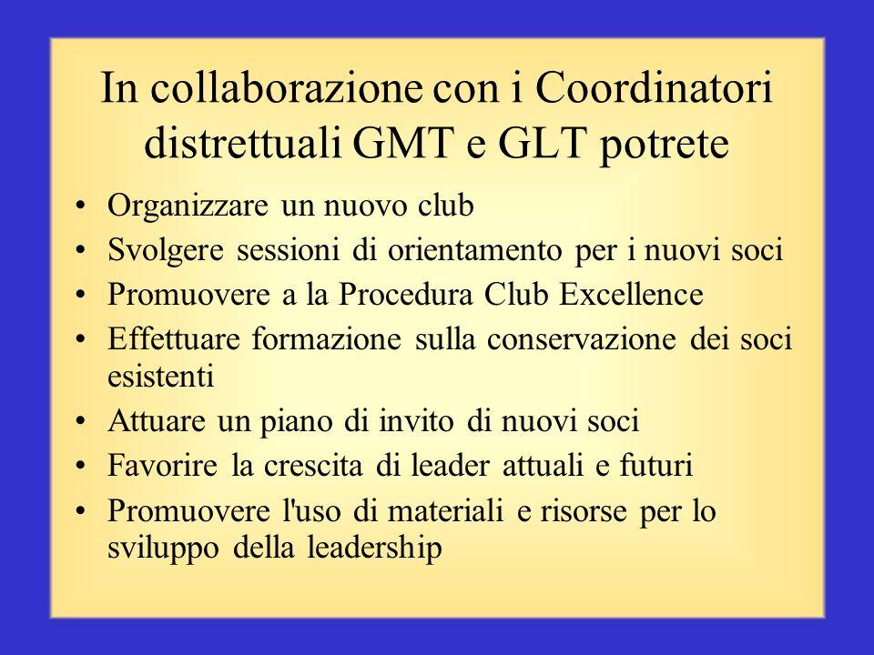 Responsabilità dei Presidenti di zona (segue, pag. 4) Promuovere presso i club i programmi distrettuali, multidistrettuali ed internazionali Lavorare