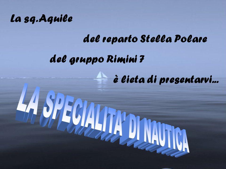 La sq. Aquile del reparto Stella Polare del gruppo Rimini 7 è lieta di presentarvi...