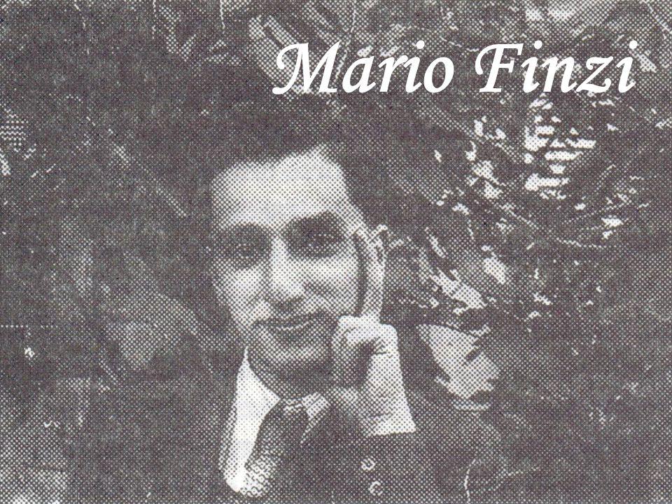 Inserire foto di Mario Finzi Mario Finzi