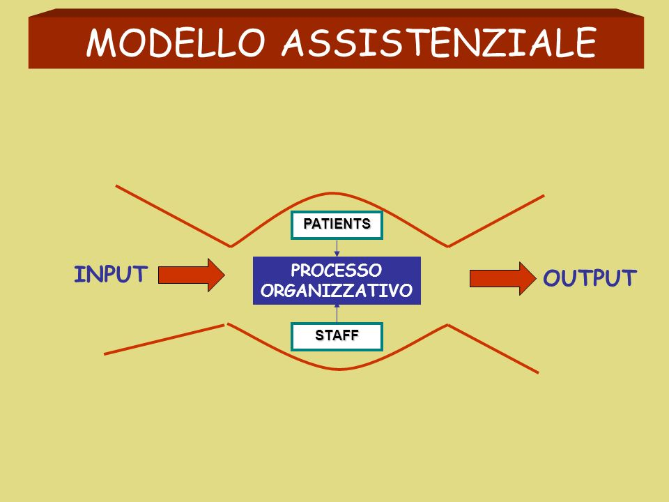 STRUTTURA ORGANIZZATIVA RESOURCES PATIENTS STAFF CARING ACTIVITY CURE ACTIVITY HUMAN STRUCTURAL TECHNOLOGICAL { Nurse Staffing (Level and ability) Support Staffing PROCESSES OUTCOMES NURSING PROCESS NURSING VIGILANCE PROCESSINPUT OUTPUT { Support services DIRECTINDIRECT PHYSIOLOGICAL SAFETY LOVE GORDONS FUNCTIONAL HEALTH PATTERNS ADVERSE EVENTS PREVENTION Failure to rescue Etc MEDICAL SUPPORT ACTIVITY CARING ACTIVITY CURE ACTIVITY