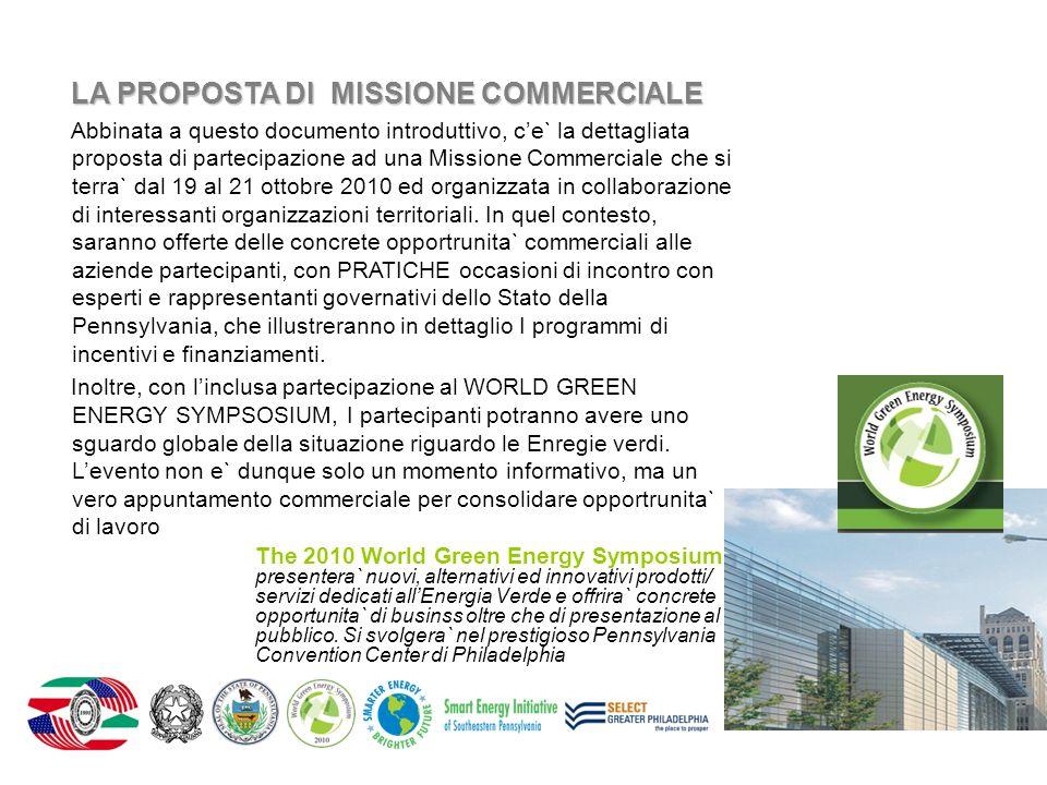 The 2010 World Green Energy Symposium presentera` nuovi, alternativi ed innovativi prodotti/ servizi dedicati allEnergia Verde e offrira` concrete opp