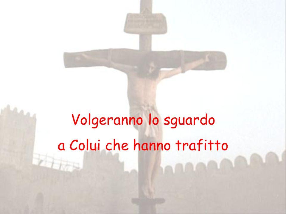 Volgiamo il nostro sguardo a Cristo crocifisso che, morendo sul Calvario, ci ha rivelato pienamente lamore di Dio