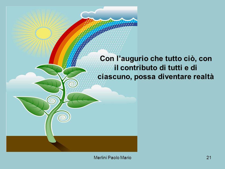 Merlini Paolo Mario21 Con laugurio che tutto ciò, con il contributo di tutti e di ciascuno, possa diventare realtà