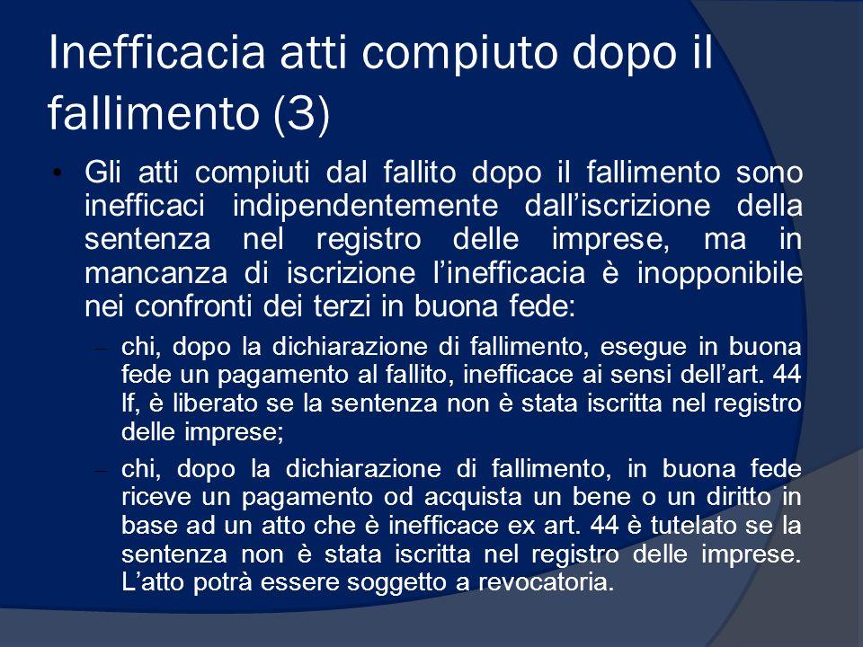 Il patrimonio del fallito lorenzo.benatti@unipr.it