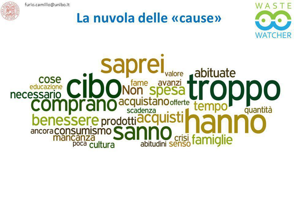 furio.camillo@unibo.it La nuvola delle «cause»