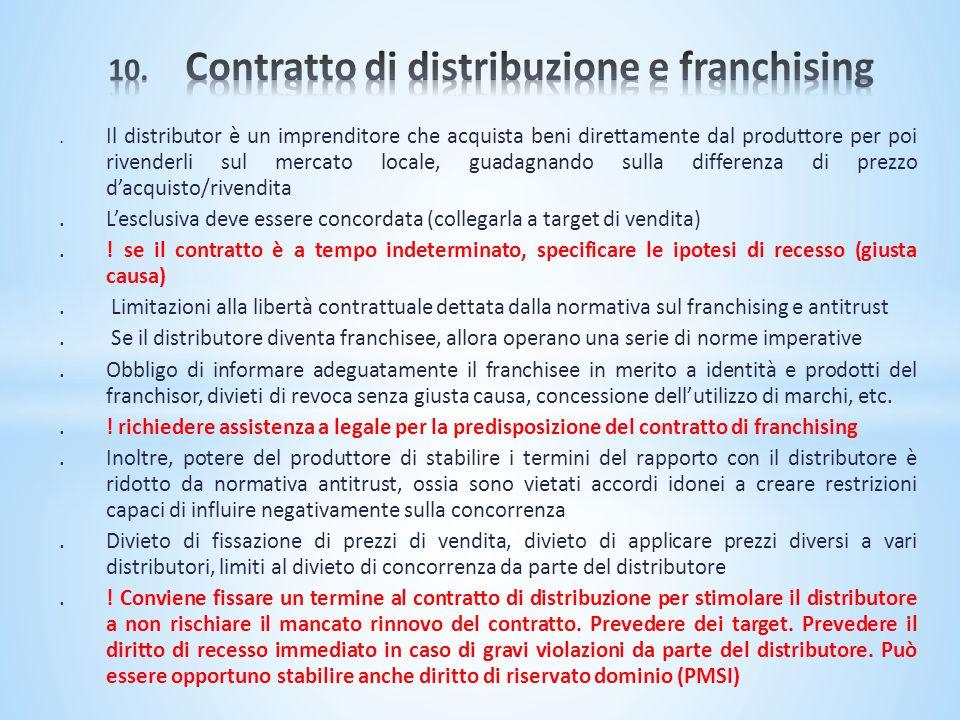 . Il distributor è un imprenditore che acquista beni direttamente dal produttore per poi rivenderli sul mercato locale, guadagnando sulla differenza d