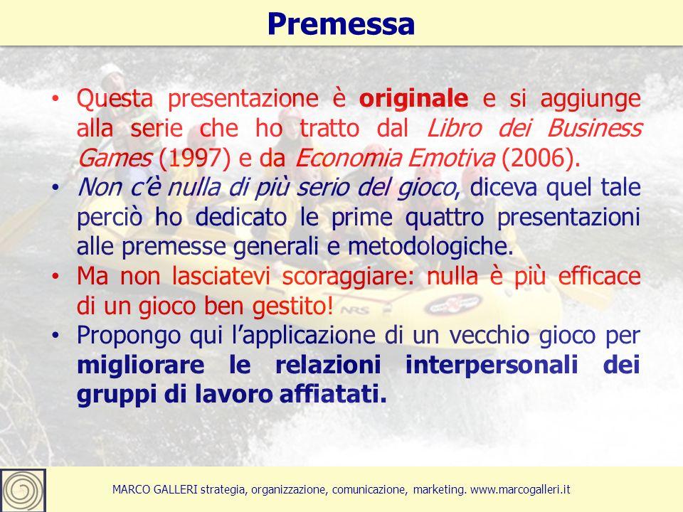 4 Questa presentazione è originale e si aggiunge alla serie che ho tratto dal Libro dei Business Games (1997) e da Economia Emotiva (2006).