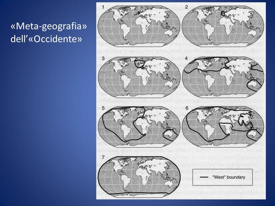 «Meta-geografia» dell«Occidente»