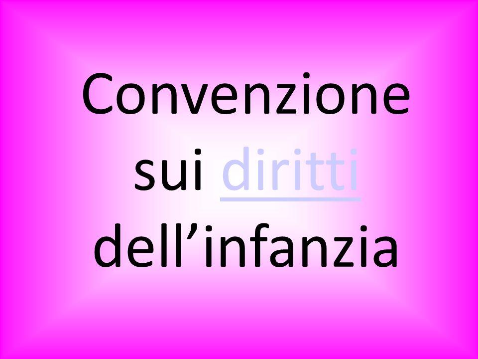 Convenzione sui diritti dellinfanzia